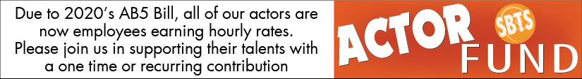 Support SBTS's Actors Ad