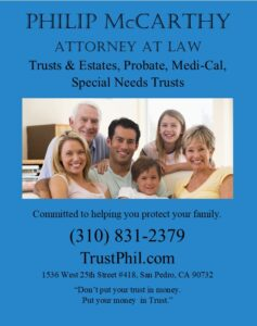 Philip McCarthy Attorney at Law Ad